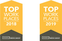Best places to work 2018 and 2019
